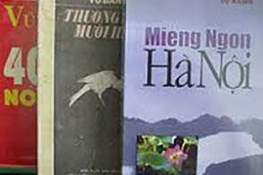 Những tác phẩm nổi tiếng của nhà văn Vũ Bằng. Ảnh: internet