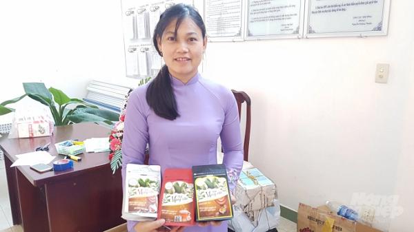 Đến nay, tỉnh Sóc Trăng có 99 sản phẩm công nhận đạt chuẩn sản phẩm OCOP. Ảnh: Trọng Linh.