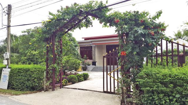 Thái Bình Trung là một trong số ít xã có cảnh quan môi trường xanh sạch đẹp của huyện Vĩnh Hưng.