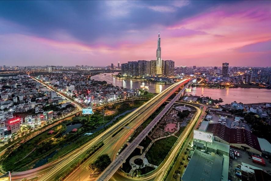 Thành phố Hồ Chí Minh - khu vực kinh tế năng động nhất của Việt Nam. Ảnh: Anh Tú.