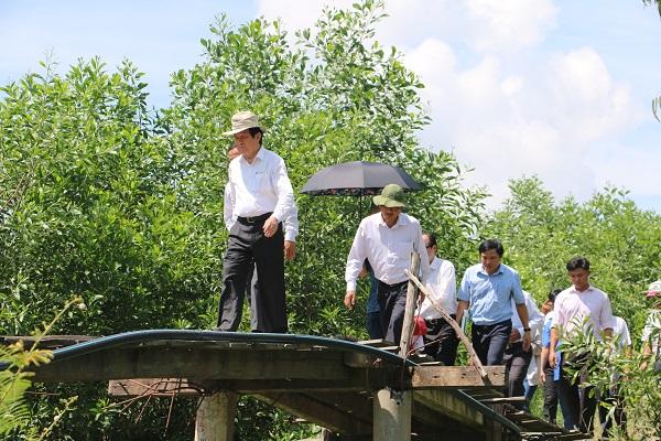 Hàng chục chuyến khảo sát và đưa nhà tài trợ xuống tận địa điểm xây cầu đã được tổ chức trong suốt 1 năm qua.