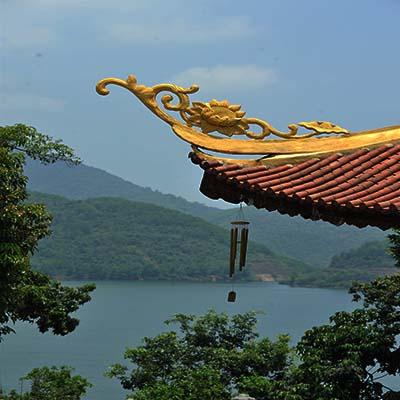 Thiền viện Trúc Lâm - Bạch Mã. Ảnh: Nguyễn Đình