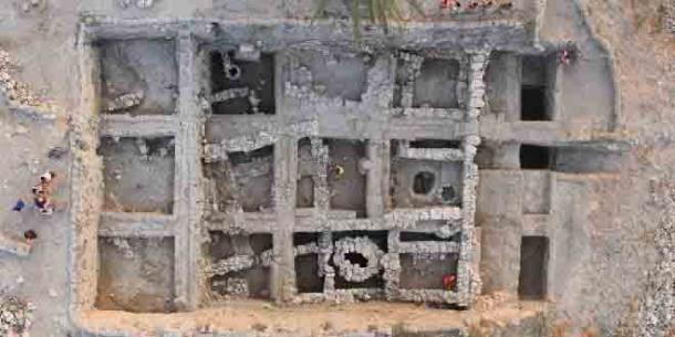 Địa điểm khảo cổ Megiddo ở Israel - Ảnh: Ảnh: CƠ QUAN QUẢN LÝ CỔ VẬT ISRAEL.