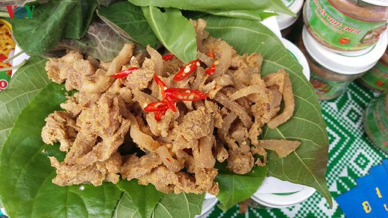 Thịt chua của người Mường Phú Thọ.