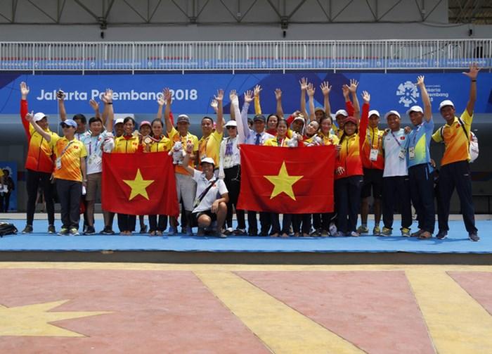 Đua thuyền mang về HCV đầu tiên cho đoàn Thể thao Việt Nam