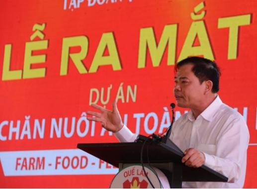 Bộ trưởng Bộ NN&PTNT Nguyễn Xuân Cường phát biểu tại sự kiện.