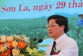 Thứ trưởng Bộ NN&PTNT Lê Quốc Doanh phát biểu tai buổi lễ.