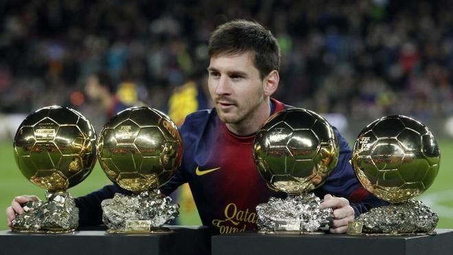 Chín năm thống trị Quả Bóng Vàng của Ronaldo và Messi - ảnh thể thao