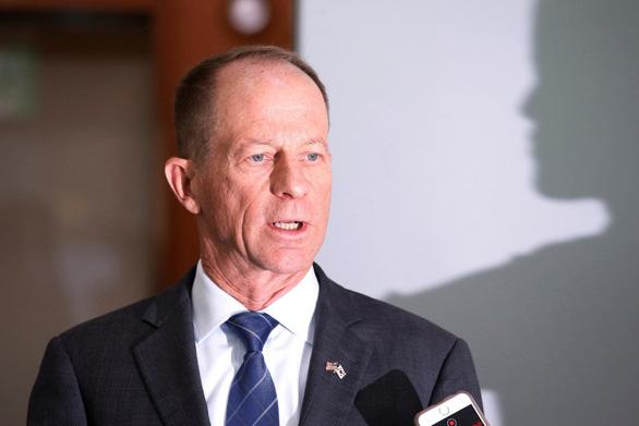 Trợ lý Ngoại trưởng Mỹ phụ trách các vấn đề Đông Á và Thái Bình Dương David Stilwell - Ảnh: REUTERS