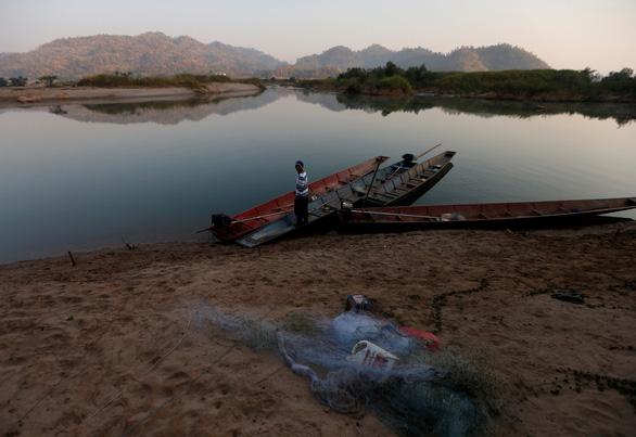 Bờ sông Mekong ở Nong Khai, Thái Lan - Ảnh: REUTERS
