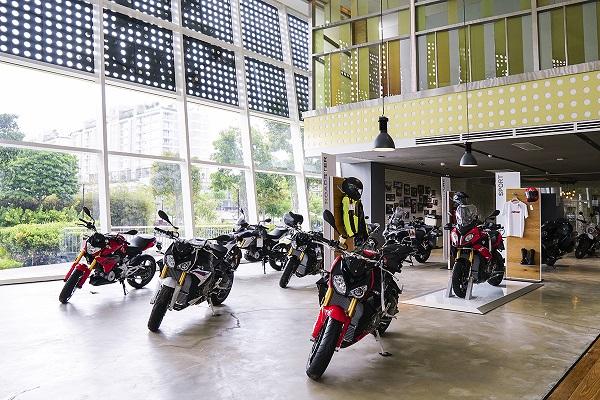 Các mẫu mô tô phân khối lớn BMW Motorrad