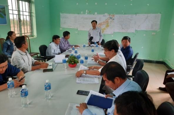 Lãnh đạo UBND tỉnh Bình Thuận làm việc với Ban quản lý đầu tư thủy lợi 7