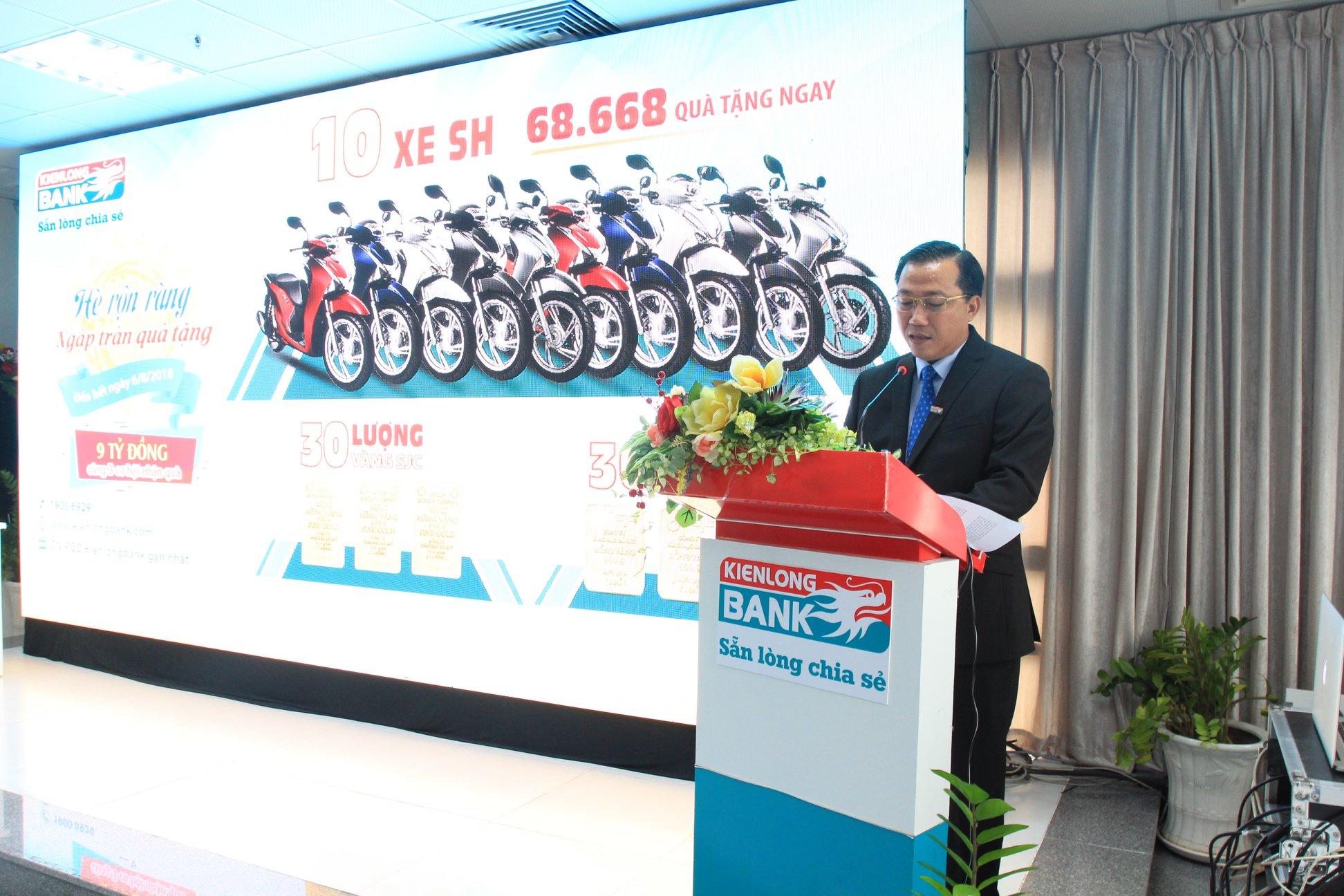 Ông Nguyễn Hoàng An - Phó Tổng Giám đốc phát biểu khai mạc