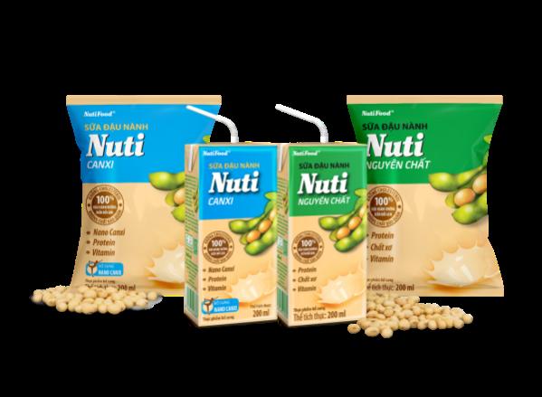 Chỉ cần mua 1 thùng sữa đậu nành Nuti, cơ hội trúng 1 lượng vàng trong tầm tay