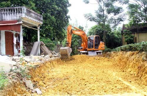 thai nguyen: 60.000 tan xi mang/nam lam duong giao thong nong thon hinh anh 1