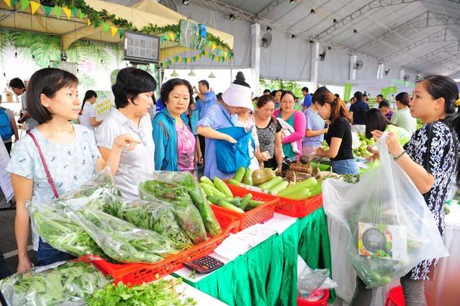 Ngày hội nông trại xanh Phú Mỹ Hưng lần 2 năm 2017 - 7