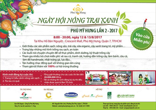 Ngày hội nông trại xanh Phú Mỹ Hưng lần 2 năm 2017 - 9