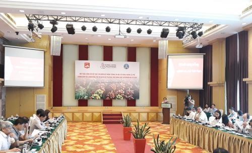 Hội thảo hệ thống thông tin mã số vùng trồng cà phê