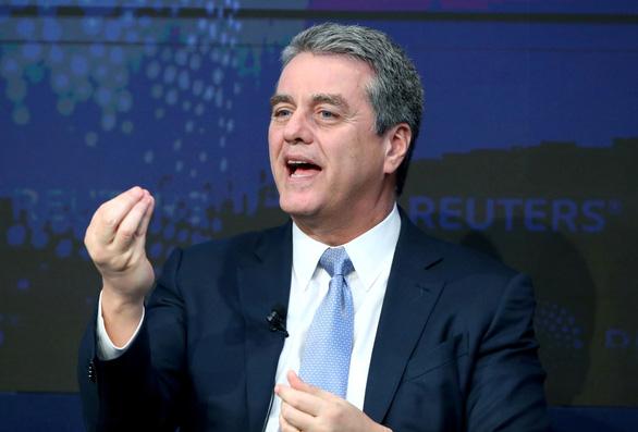Tổng giám đốc Tổ chức Thương mại thế giới (WTO) Roberto Azevêdo - Ảnh: REUTERS