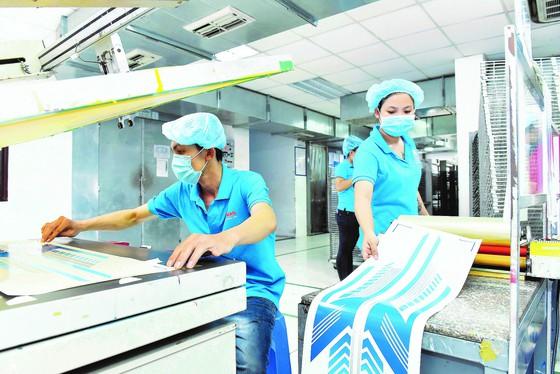 Hoạt động sản xuất tại một doanh nghiệp trong nước.