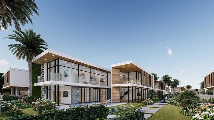 Phối cảnh thiết kế biệt thự Malibu Hội An
