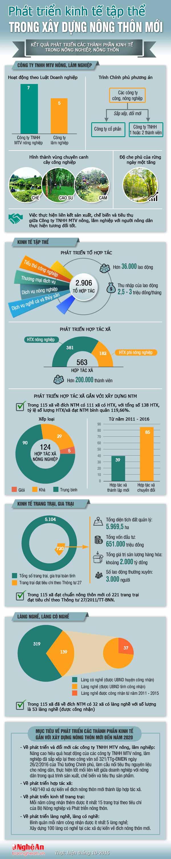 infographics: kinh te tap the trong xay dung ntm o nghe an hinh anh 1