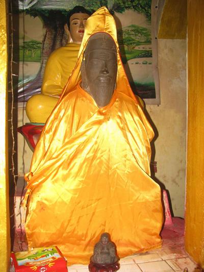 tượng thần Shiva do người Chăm tạc, có niên đại khoảng thế kỷ 11 - 13.
