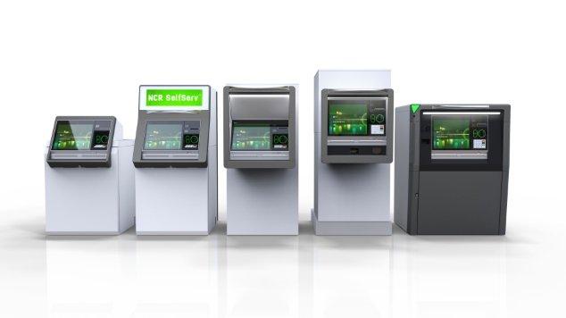 Máy ATM mới, ngân hàng