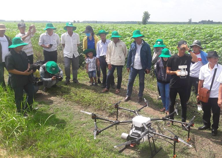 Toàn cảnh buổi bay thử nghiệm drone