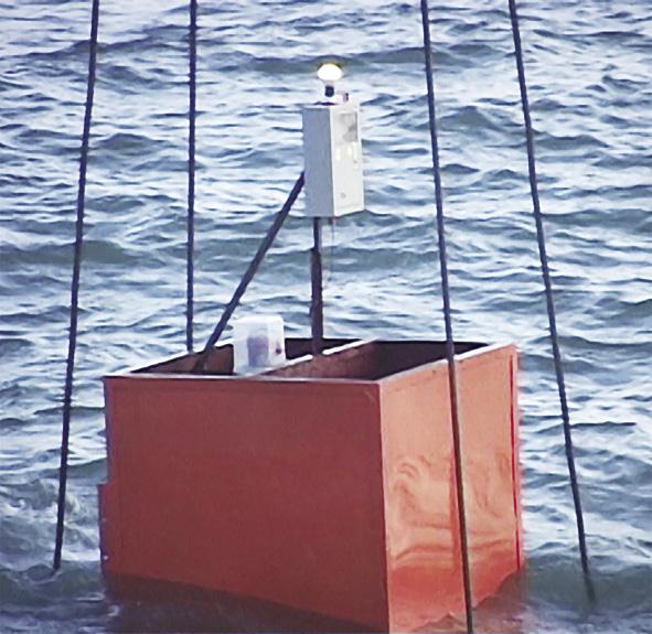 Thiết bị được thử nghiệm trên biển Nghi Sơn (Thanh Hóa)